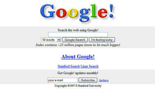 everything about Google search engine